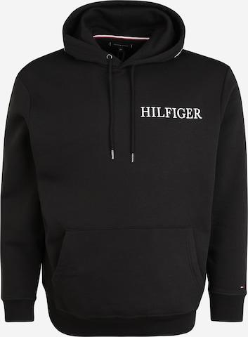 Tommy Hilfiger Big & Tall Суичър в черно