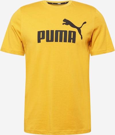 PUMA T-Shirt fonctionnel en jaune / noir, Vue avec produit