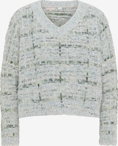 myMo NOW Pullover in grün / pastellgrün, Produktansicht