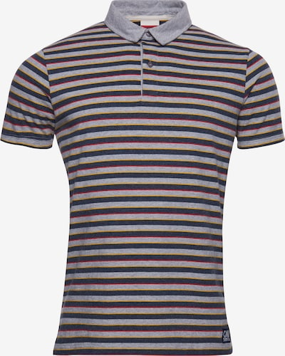 Superdry Polohemd in blau / weiß, Produktansicht