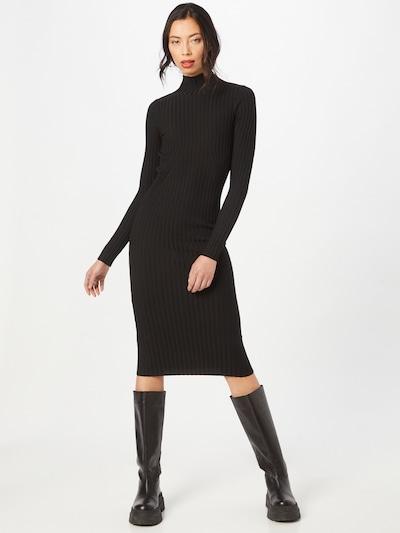 NORR Jurk 'Karlina' in de kleur Zwart, Modelweergave
