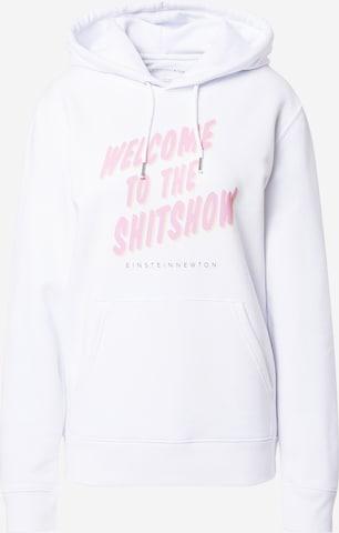 Bluză de molton 'Shitshow Brun Hilde' de la EINSTEIN & NEWTON pe alb