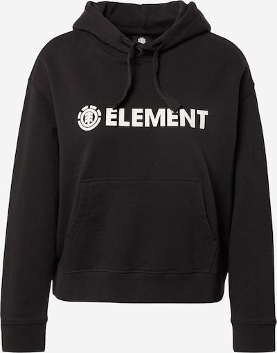 ELEMENT Sweat de sport en noir / blanc, Vue avec produit