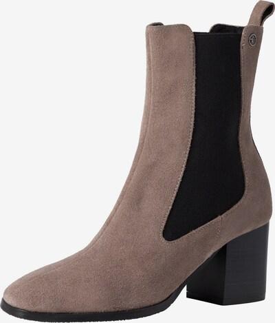 TAMARIS Chelsea Boots in beigemeliert / schwarz, Produktansicht