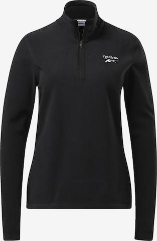 Reebok Sport Fleece Jacket in Black