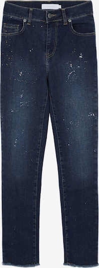 Scalpers Jeans 'Splash' in dunkelblau / gelb / weiß, Produktansicht