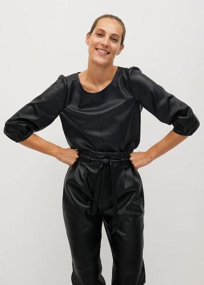 MANGO Tunika in schwarz, Modelansicht