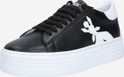 PATRIZIA PEPE Baskets basses en noir / blanc, Vue avec produit