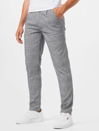 SHINE ORIGINAL Kalhoty se sklady v pase - šedá, Model/ka