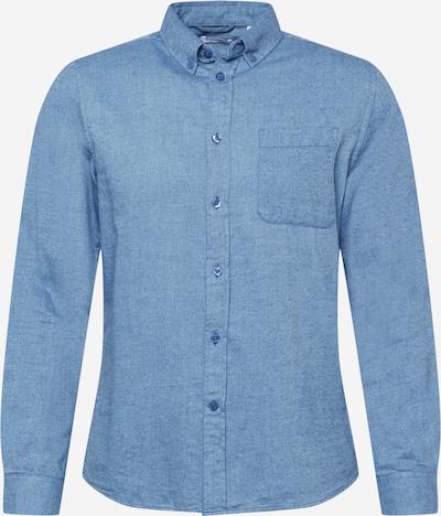 KnowledgeCotton Apparel Hemd 'ELDER' in blue denim, Produktansicht