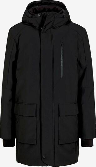 TOM TAILOR DENIM Winterparka in de kleur Zwart, Productweergave