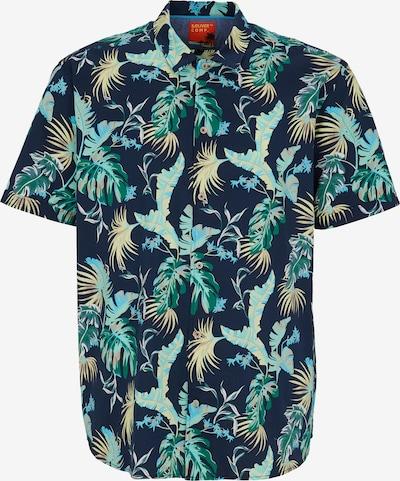 s.Oliver Men Big Sizes Hemd in nachtblau / hellbraun / mint, Produktansicht