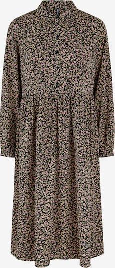 PIECES Kleid 'Krissie' in mischfarben / schwarz, Produktansicht