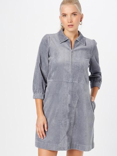 Rochie tip bluză 'Eyvor' Part Two pe azuriu, Vizualizare model