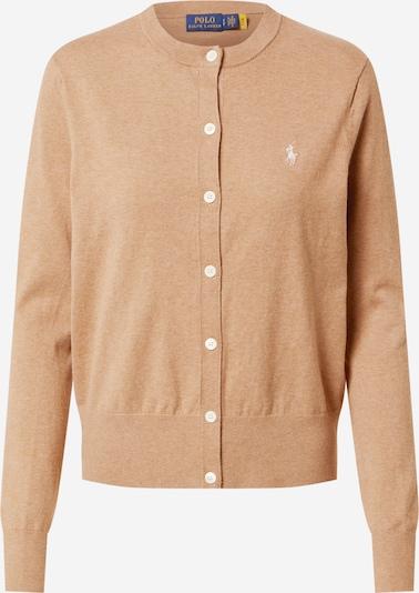 Polo Ralph Lauren Kardigan w kolorze camel / białym, Podgląd produktu