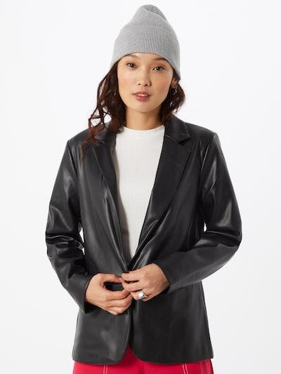 Blazer švarkas iš VILA , spalva - juoda, Modelio vaizdas