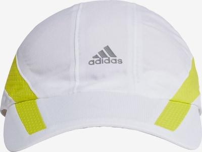 ADIDAS PERFORMANCE Casquette de sport en jaune / noir / blanc, Vue avec produit