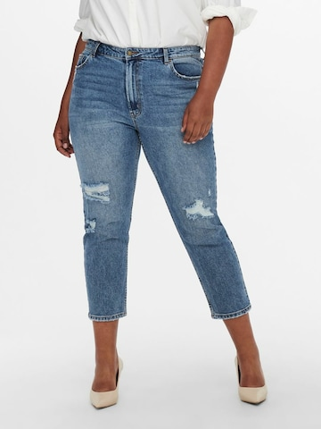 ONLY Carmakoma Jeans 'Mily' in Blau