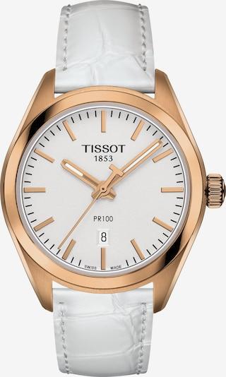 Tissot Uhr in gold / hellgrau / weiß, Produktansicht