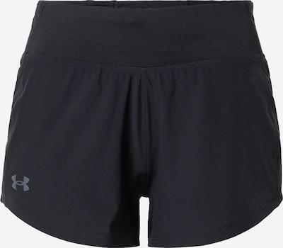 UNDER ARMOUR Pantalón deportivo en gris humo / negro, Vista del producto