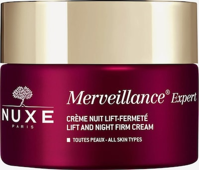 Nuxe Night Care 'Crème Nuit Lift-Fermeté' in yellow gold / Burgundy, Item view