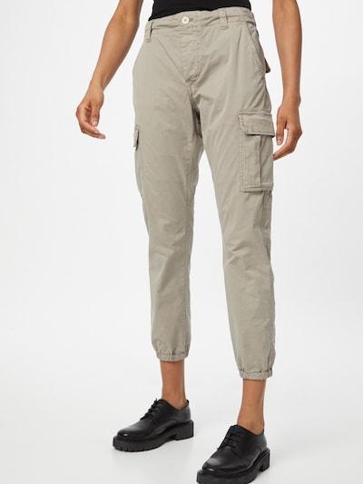 REPLAY Pantalon cargo en beige clair, Vue avec modèle