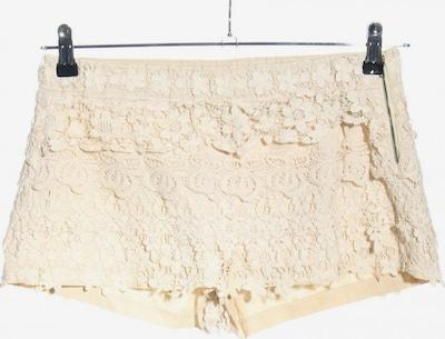 ZARA Shorts in L in wollweiß, Produktansicht