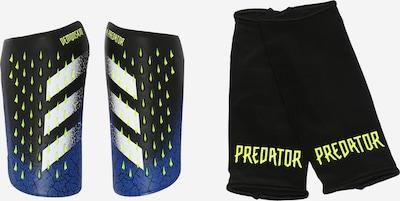 ADIDAS PERFORMANCE Aizsargs 'Predator' zils / neonzaļš / melns / balts, Preces skats