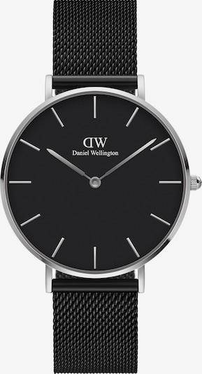 Daniel Wellington Uhr in schwarz, Produktansicht