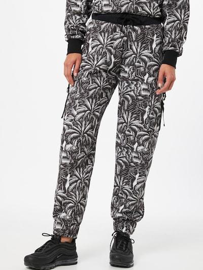 NU-IN Hose in schwarz / weiß, Modelansicht