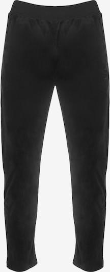 Sergio Tacchini Pantalon de sport 'Orion Velour' en noir, Vue avec produit