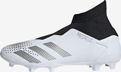ADIDAS PERFORMANCE Fußballschuh 'Predator 20.3' in schwarz / silber / weiß, Produktansicht