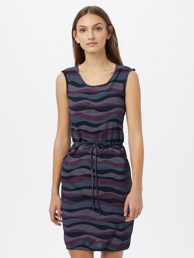 mazine Kleid 'Paulina' in navy / taubenblau / flieder / dunkelpink, Modelansicht