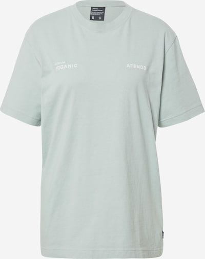 Afends T-Shirt 'Boundary' in mint / weiß, Produktansicht
