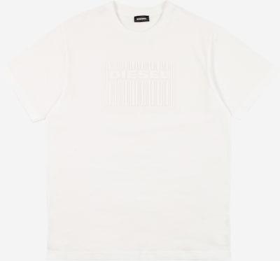 DIESEL Majica | bela barva: Frontalni pogled