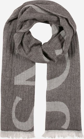 JOOP! Jeans Écharpe 'Maik' en marron / gris, Vue avec produit