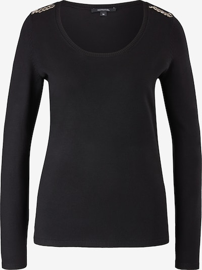 COMMA Sweater in Black, Item view