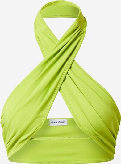 Public Desire Top in de kleur Kiwi, Productweergave