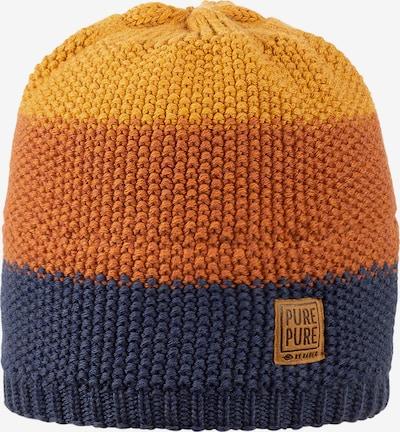 pure pure by BAUER Mütze in dunkelblau / gelb / orange, Produktansicht