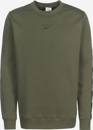 Reebok Sport Sports sweatshirt in Olive / Black / White, Item view