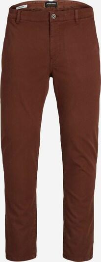 JACK & JONES Pantalon chino en marron, Vue avec produit
