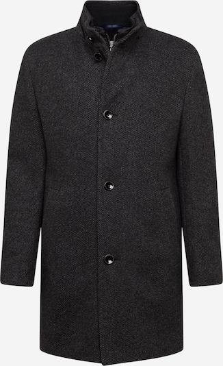 bugatti Manteau mi-saison en gris foncé, Vue avec produit
