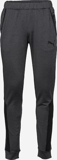 PUMA Športne hlače | temno siva / črna barva, Prikaz izdelka