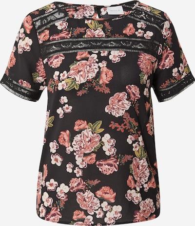 VILA Shirt 'SURASHA' in de kleur Gemengde kleuren / Zwart, Productweergave