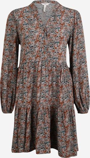 OBJECT (Petite) Košulja haljina 'Klara' u siva / tamno zelena / narančasta, Pregled proizvoda
