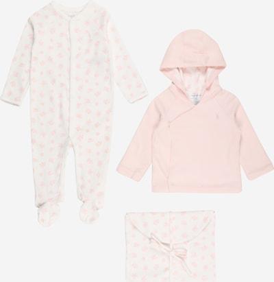 Polo Ralph Lauren Set in hellpink / weiß, Produktansicht