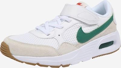 Nike Sportswear Sneaker 'Air Max' in beige / grün / weiß, Produktansicht