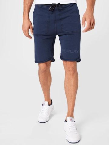 REPLAY Püksid, värv sinine