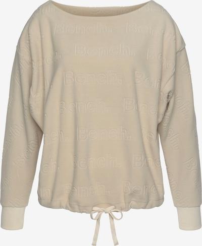 Bluză de molton BENCH pe bej, Vizualizare produs