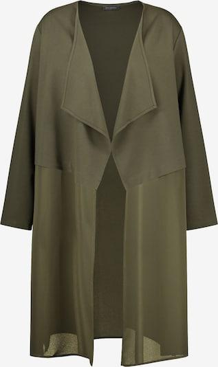SAMOON Jacke in oliv, Produktansicht